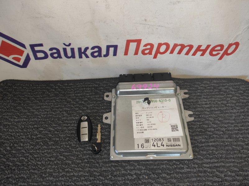 Блок управления двс Nissan Teana J32 VQ25DE 2012 MEC126-060