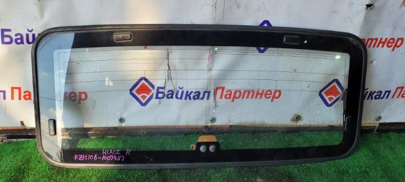 Стекло люка Toyota Hiace KZH106V 1KZ-TE