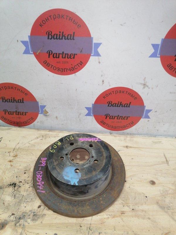 Тормозной диск Subaru Legacy BP9 задний