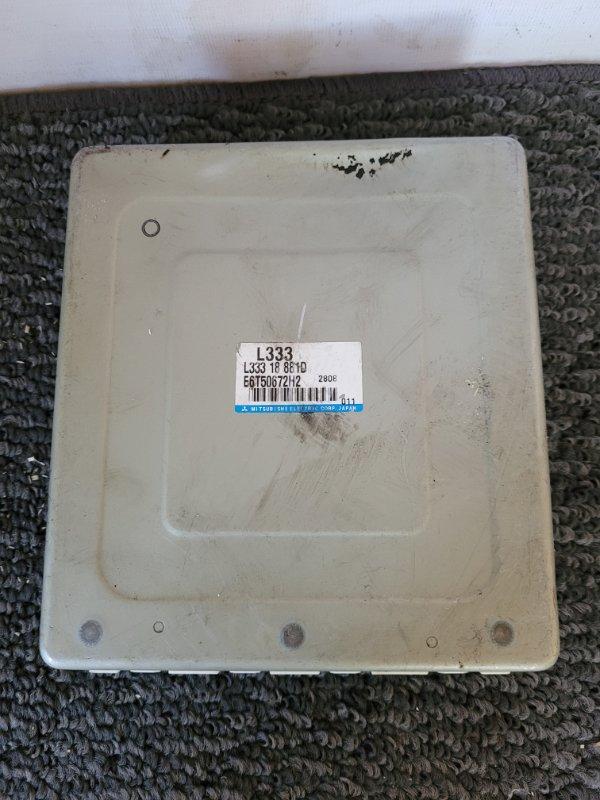 Блок управления двс Mazda Atenza GG3P L3-VE E6T50672H2