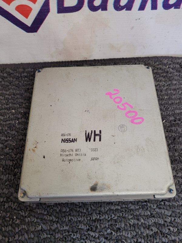 Блок управления двс Nissan Wingroad WFY11 QG18DE A56-U76