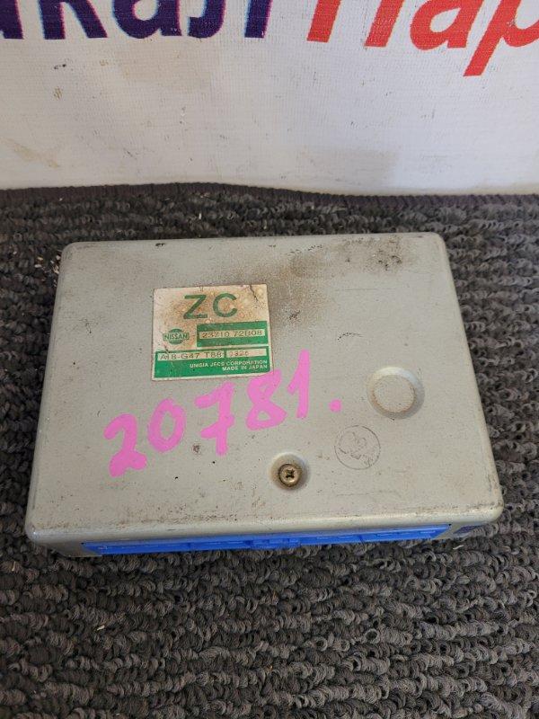Блок управления двс Nissan March K11 CG10DE 23710-72B08