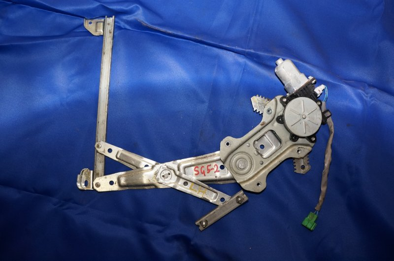 Мотор стеклоподъемника Subaru Forester SG5 EJ205 2006 задний левый