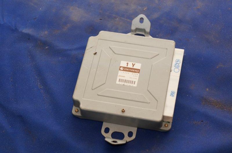 Блок управления двс Subaru Legacy BE5