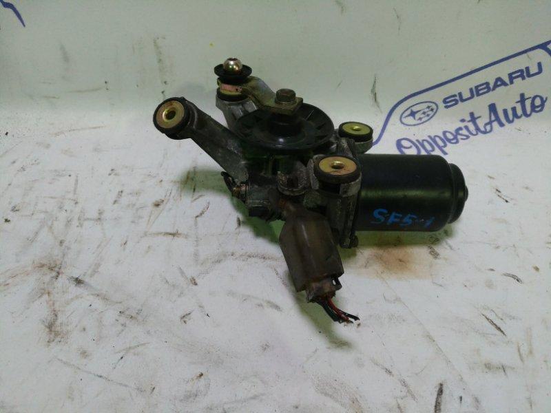 Мотор стеклоочистителя Subaru Forester SF5 EJ205 2001 передний