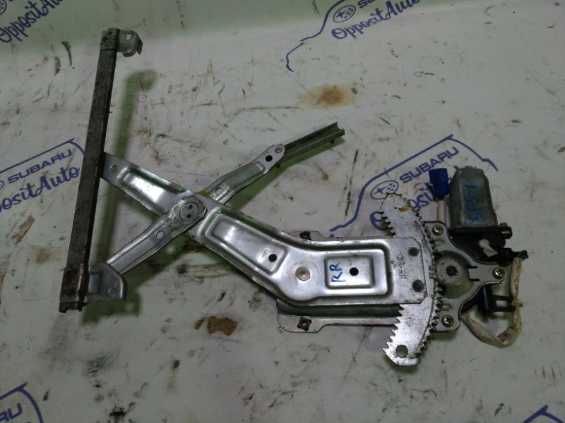 Мотор стеклоподъемника Subaru Forester SF5 EJ205 2001 задний правый