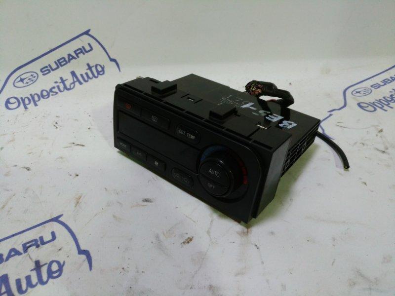 Блок управления климат-контролем Subaru Legacy BE5 EJ206DXDBE 2001
