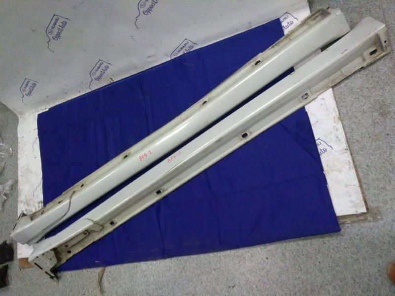 Комплект накладок на пороги Subaru Legacy BP5 EJ20XDKBJE 2004