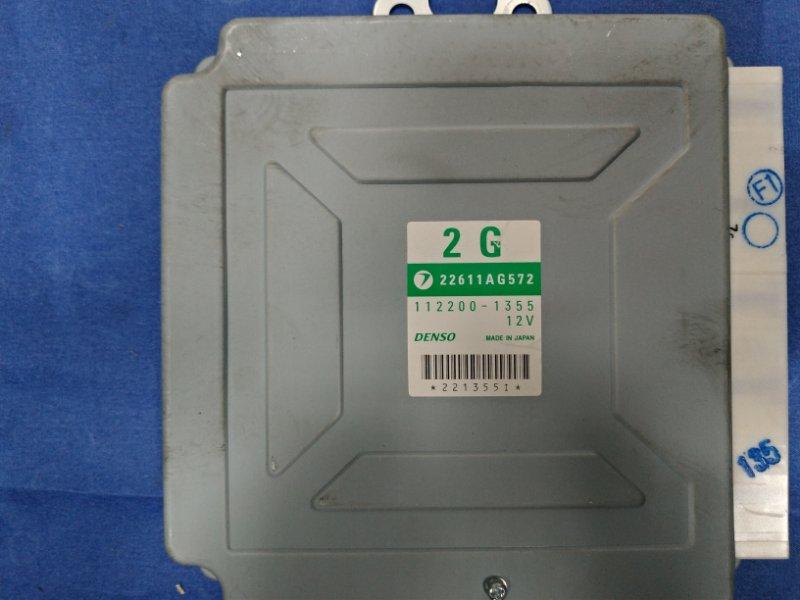Блок управления двс Subaru Forester SG5 EJ205DPQME 2006