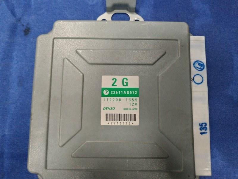 Блок управления двс Subaru Forester SG5 EJ205DPRJE 2005