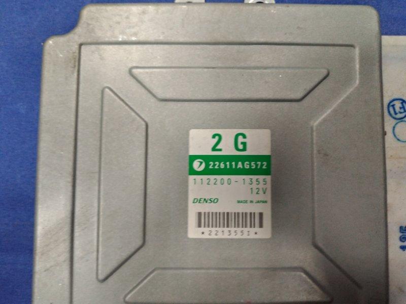 Блок управления двс Subaru Forester SG5 EJ205DXTBE 2003