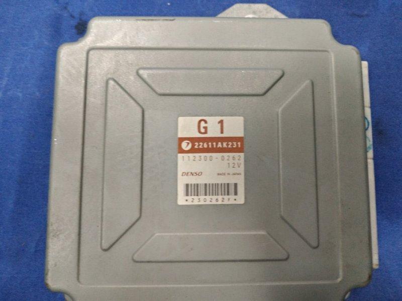 Блок управления двс Subaru Legacy BP5 EJ20XDKBJE 2004