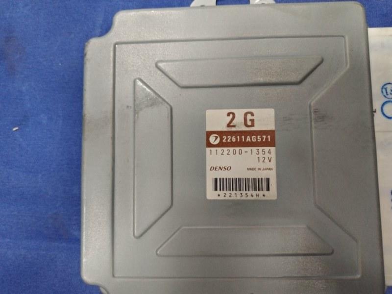 Блок управления двс Subaru Forester SG5 EJ205DXUBE 2002
