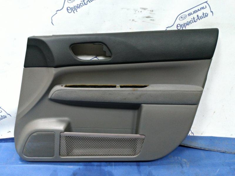 Обшивка двери Subaru Forester SG5 EJ205DXTBE 2003 передняя правая