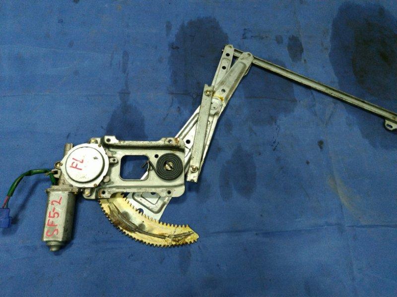 Мотор стеклоподъемника Subaru Forester SF5 EJ205DXZKE 1999 передний левый