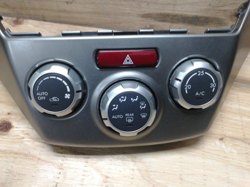 Блок управления климат-контролем Subaru Forester SH5 EJ204JPZME 2008