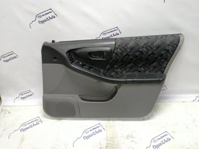 Обшивка двери Subaru Forester SF5 EJ20GDX1NY 1998