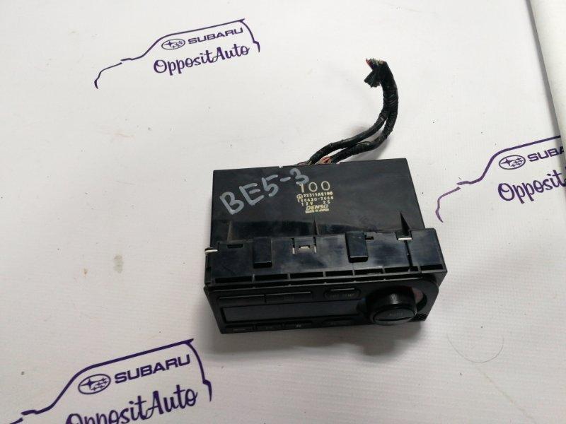 Блок управления климат-контролем Subaru Legacy BE5 EJ206DXCBE 2001