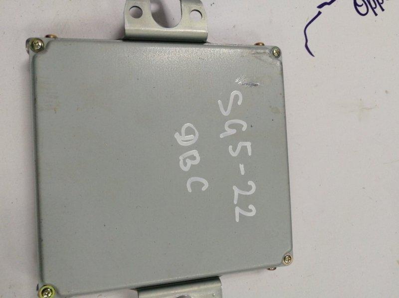 Блок управления двс Subaru Forester SG5 EJ202DXSAE 2004