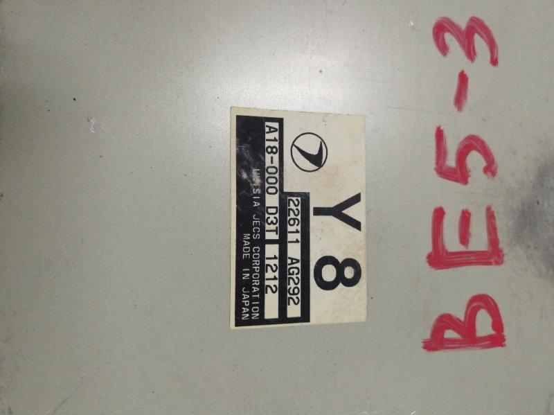 Блок управления двс Subaru Legacy BE5 EJ206DXCBE 2001