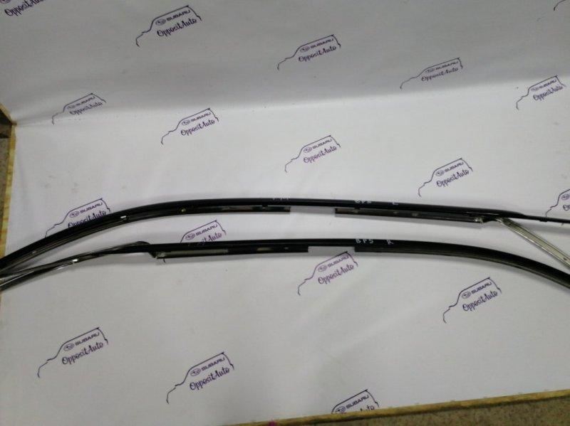 Ветровики комплект Subaru Legacy BP5 EJ204 2004