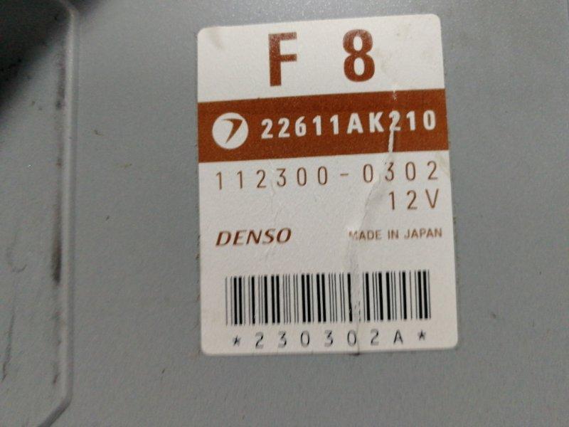 Блок управления двс Subaru Outback BP9 EJ253HPBHE 2004