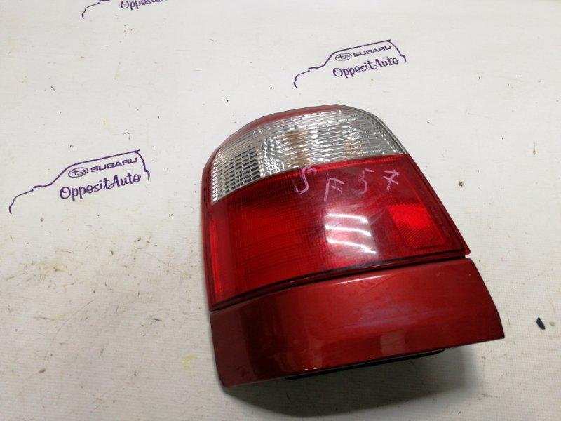 Фара Subaru Forester SF5 EJ205DXXKE 2000 задняя левая