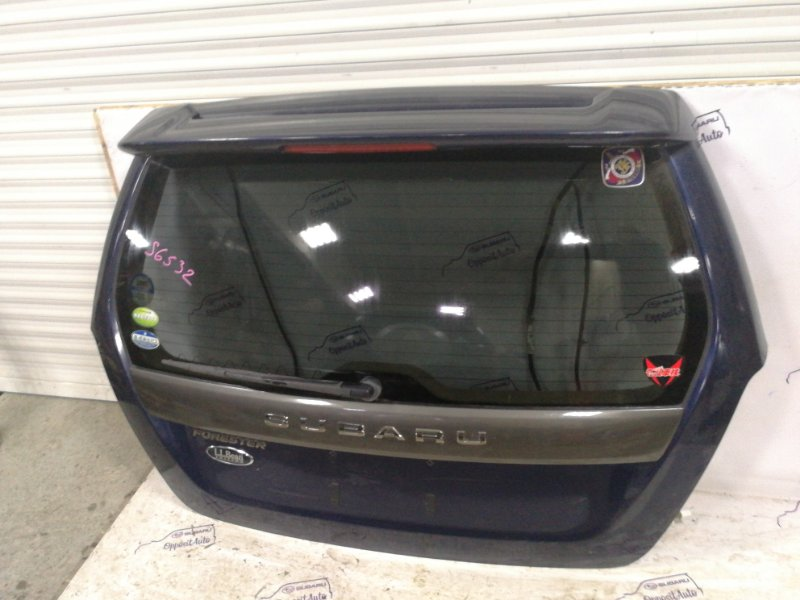Дверь 5-я Subaru Forester SG5 EJ205DWSBE 2004