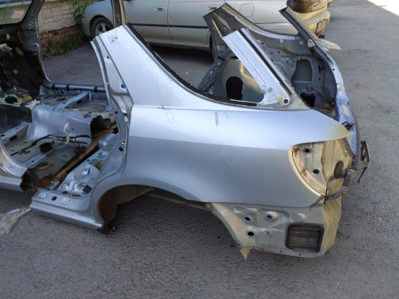 Крыло Subaru Impreza GGA EJ205DX5BE 2003 заднее левое