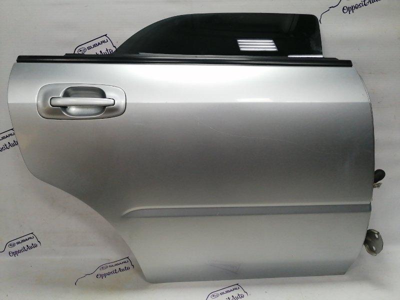Дверь Subaru Impreza GGA EJ205DX5BE 2003 задняя правая
