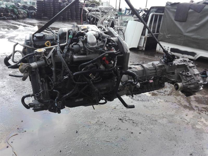 Двигатель Toyota Hiace KZH116 1KZTE 2001
