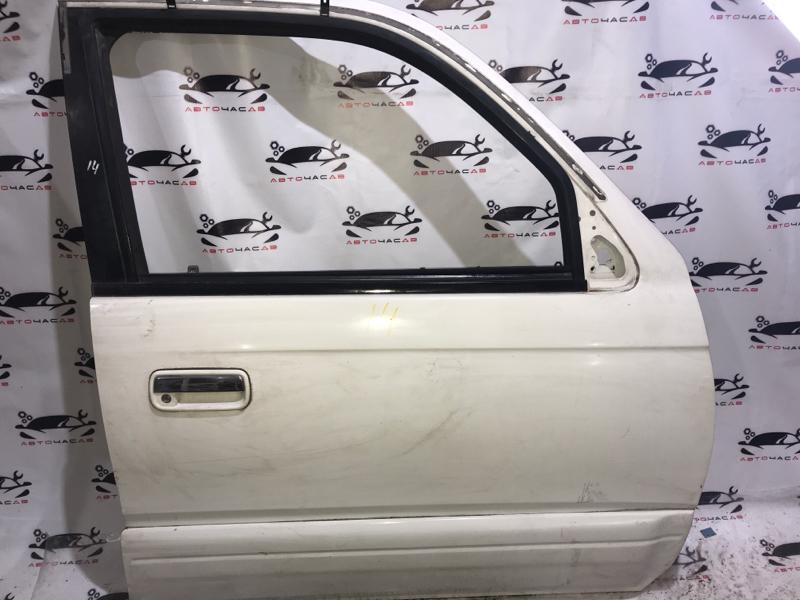 Дверь боковая Toyota Hilux Surf RZN185 3RZFE 1998 передняя правая