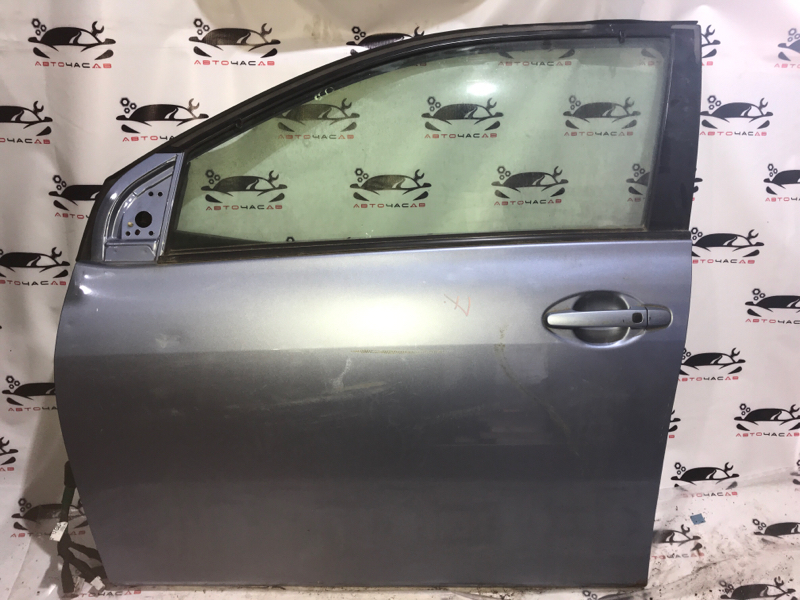 Дверь боковая Toyota Corolla Fielder NZE141 1NZ передняя левая