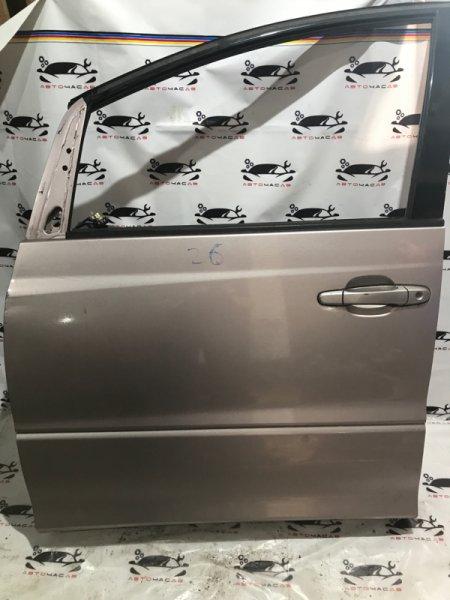 Дверь боковая Toyota Estima AHR10 2AZ 2001 передняя левая