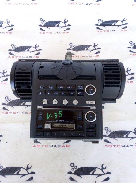 Консоль магнитофона Nissan Skyline V35