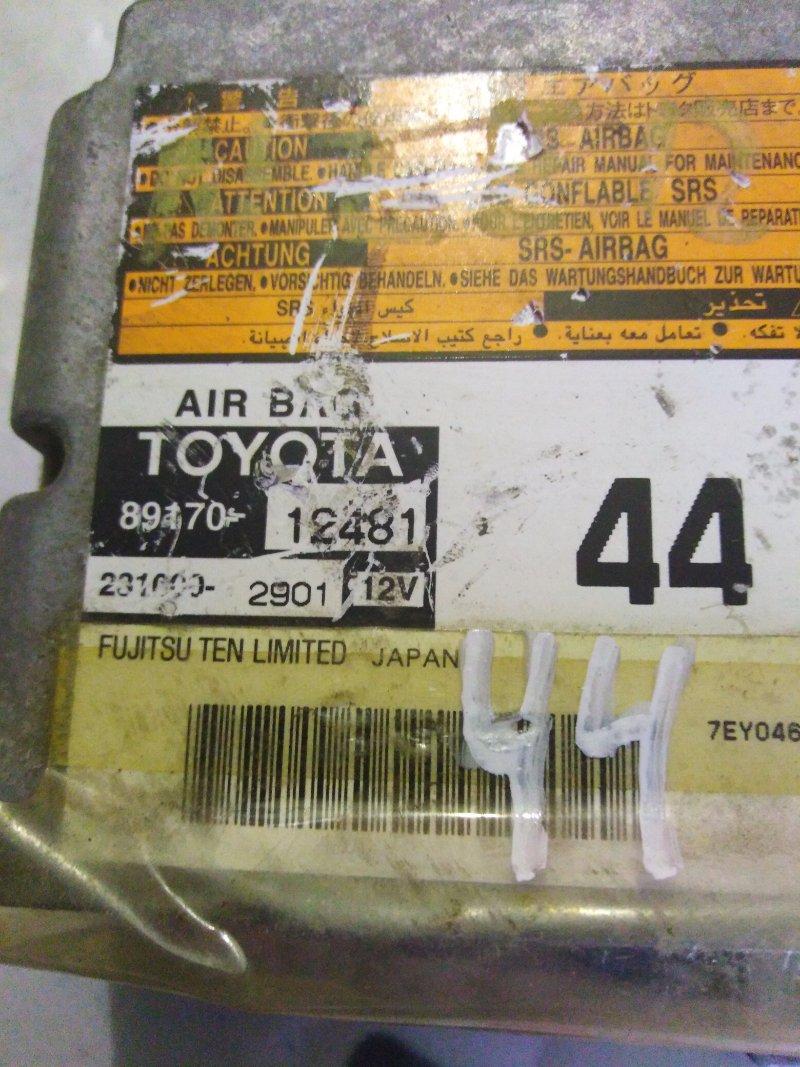 Блок airbag Toyota Sienta NCP85 1NZ 2006