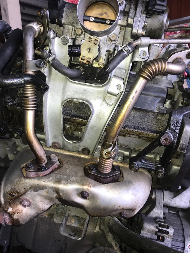 Коллектор выпускной Mitsubishi Pajero V45 6G74GDI правый