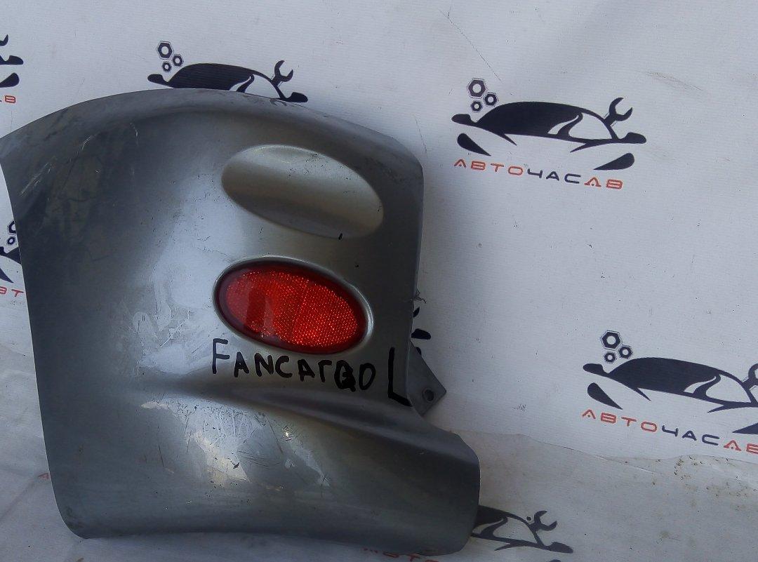 Накладка на бампер Toyota Funcargo NCP20 задняя левая