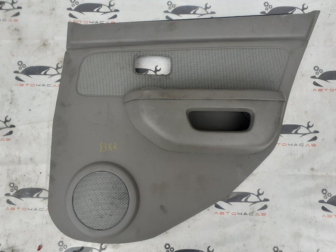 Карта двери Nissan Cube AZ10 CGA3 задняя правая