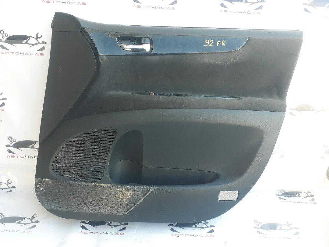 Карта двери Toyota Ipsum ACM21 2AZ-FE 2003 передняя правая