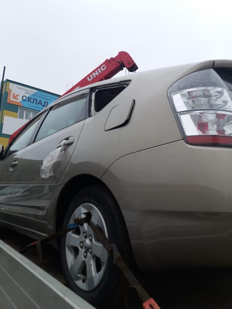 Стойка подвески Toyota Prius NHW20-0032358 1NZ-FXE 2005 задняя левая