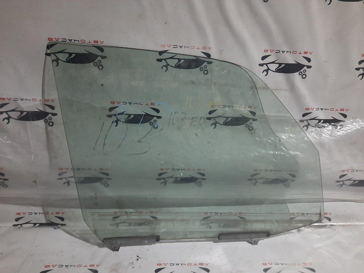 Стекло двери Mitsubishi Pajero Io H76W 4G93 1999 переднее правое