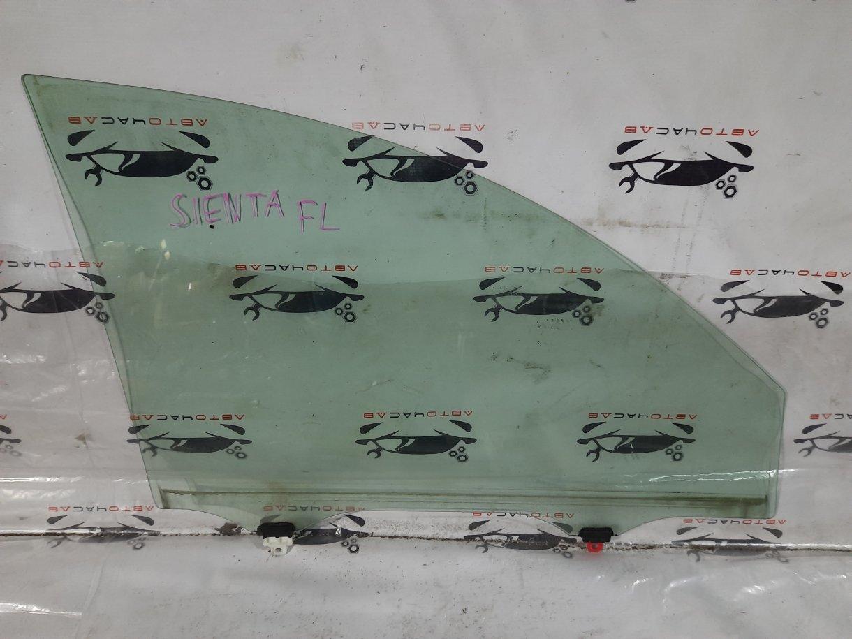 Стекло двери Toyota Sienta NCP81 1NZ 2008 переднее левое