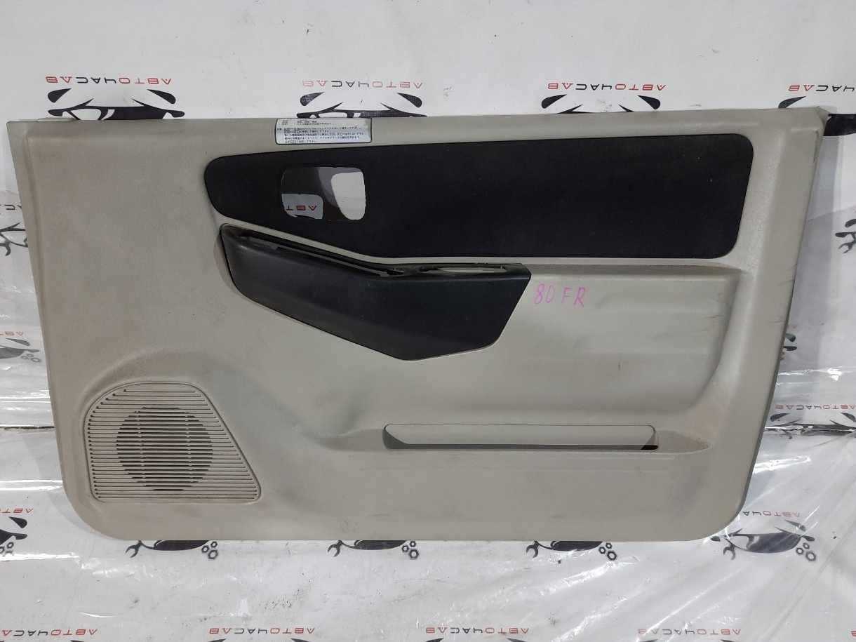 Обшивка двери Mitsubishi Pajero Mini H58A 4A30 передняя правая
