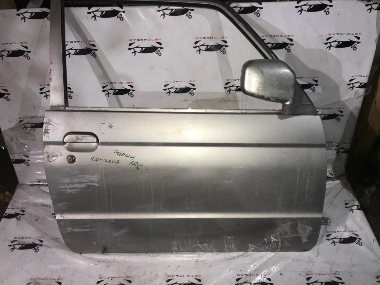 Ручка двери внешняя Mitsubishi Pajero Mini H58A 4A30 1999 передняя правая