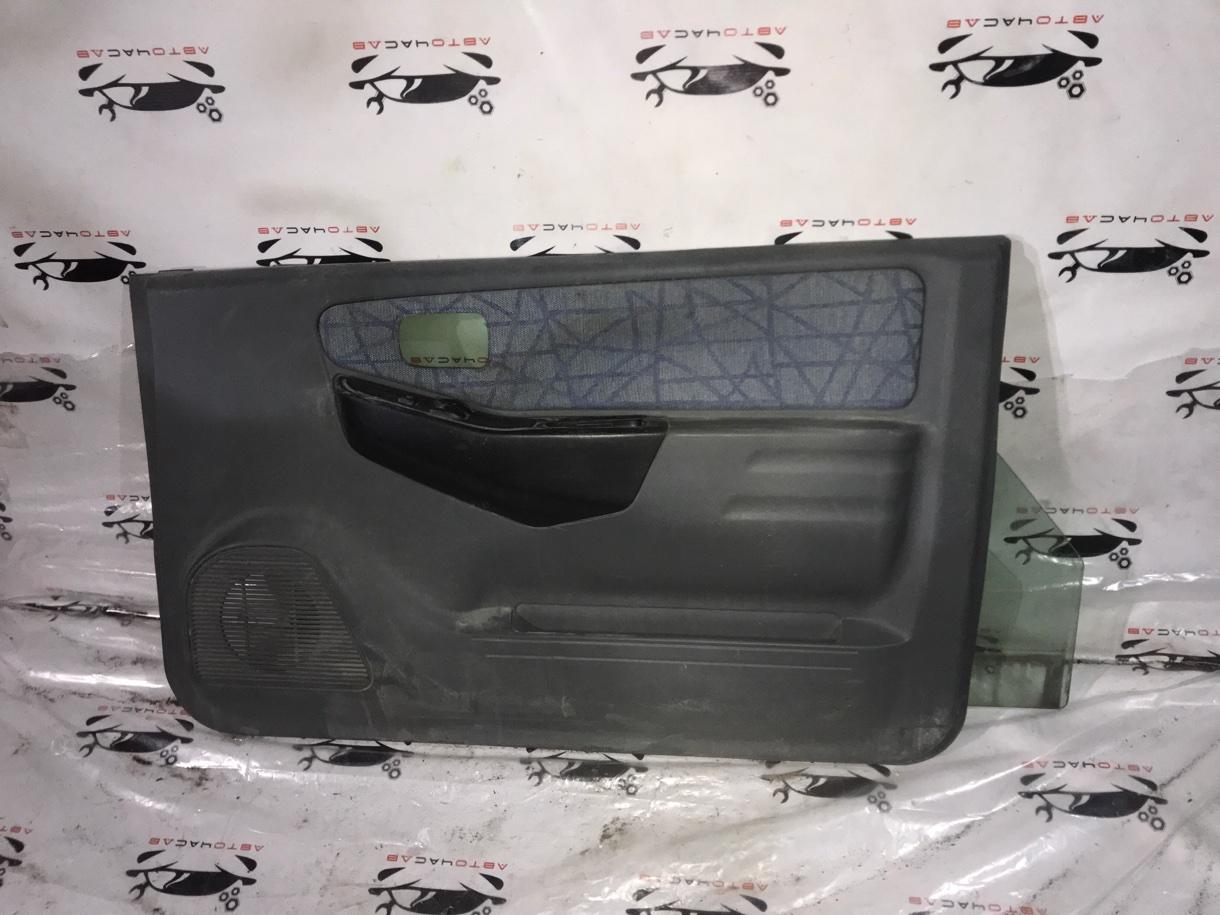 Обшивка дверей Mitsubishi Pajero Mini H58A 4A30 1999