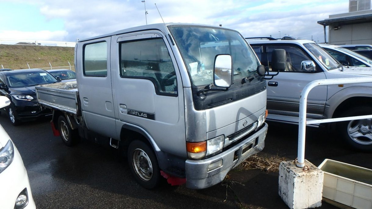 Мкпп Nissan Atlas R8F23 QD32 1998