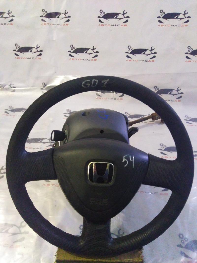 Руль Honda Fit GD1 L13A 2002