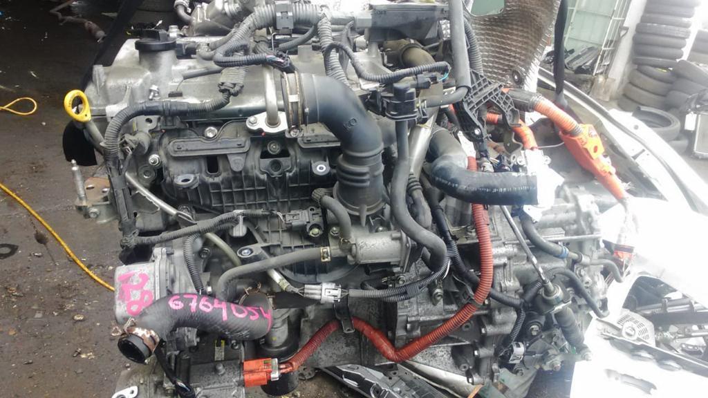 Двигатель Toyota Aqua NHP10 1NZ-FE