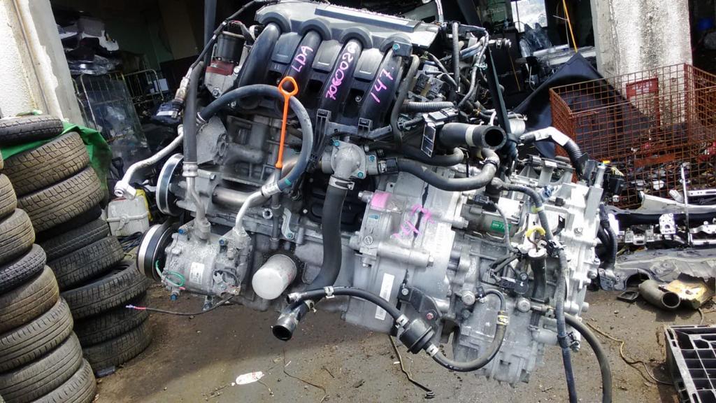 Двигатель Honda Fit Shuttle GP2 LDA